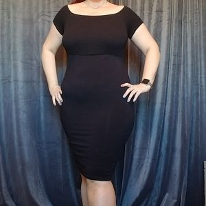 Gorgeous knit LBD from Torrid!